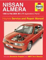 Nissan Almera 1995-00