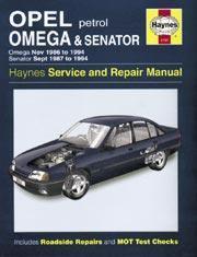 Opel Omega & Senator Petrol 1986-94