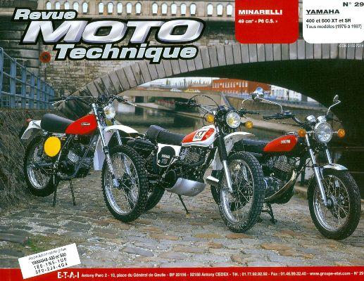 F029 Minarelli P 6 CS Yamaha XT SR 400-500 1976-86