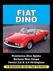 Fiat Dino Road Test Portfolio 1968-73
