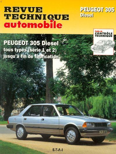 Peugeot 305 D Tous les modeles RTA734