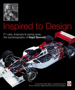 Inspired to Design:F1 cars,Indycars & racing tyres