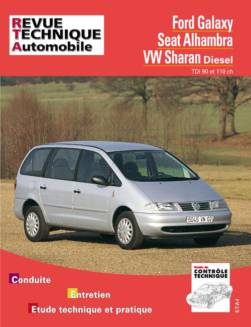 Ford Galaxy, VW Sharan, Seat Alhambra TDI (RTA599)