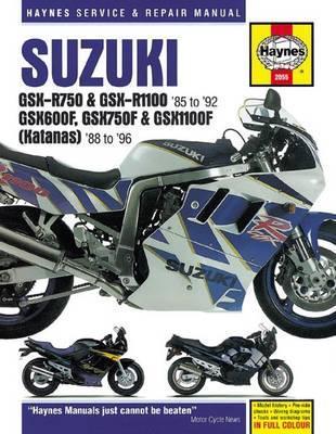 Suzuki GSX-R750/1100, GSXF600/750/1100 1988-96