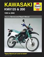 Kawasaki KMX 125 & 200 1986-2002