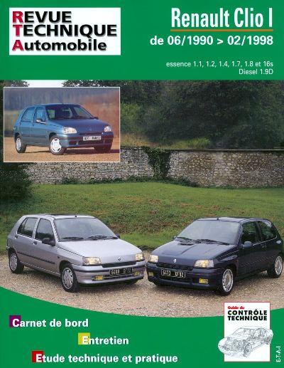Renault Clio Ess & Diesel 06/90-02/98 (RTA115)