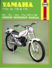 Yamaha TY 50, 80, 125 & 175 1974-84