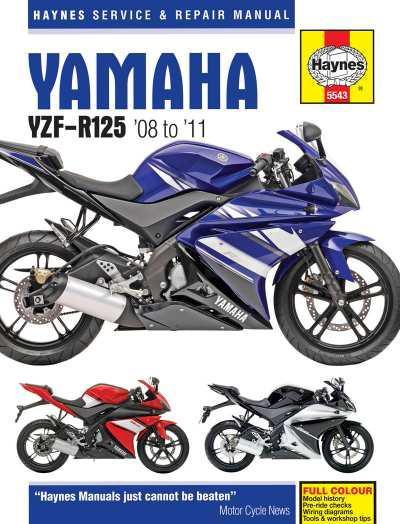 Yamaha YZF-R125 2008-2011