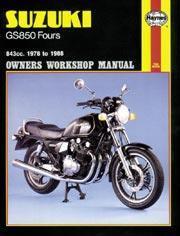Suzuki GS 850 Fours 1978-88