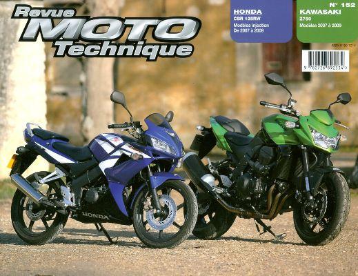 F152 Kawasaki Z750 07-09 Honda CBR125R 2007-09