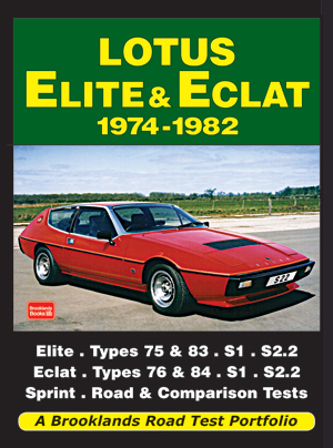 Lotus Elite & Eclat 1974-82 Road Test Portfolio