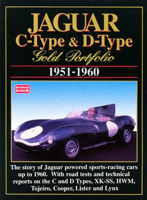 Jaguar C & D Type Gold Portfolio 1951-60