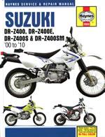 Suzuki DR-Z400 (00 to 10)