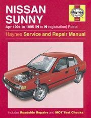 Nissan Sunny 1991-95