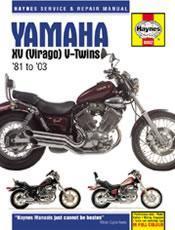 Yamaha XV Virago Twins 1981-03