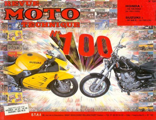 F100 Honda 125 Rebel 95-00 Suzuki Rf 600 R 93-96