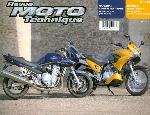 F148 Suzuki Bandit 650/650 S, K7 et K8 (2007/08)