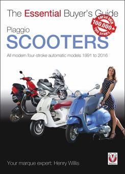 Piaggio Scooters: Modern 2 & 4-Stroke Autom 91-16
