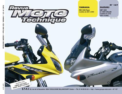 F127 Yamaha FZS1000 Fazer- Suzuki 1200 Bandit01-02
