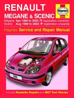 Renault Mégane & Scenic Petrol & Diesel 1999-2002