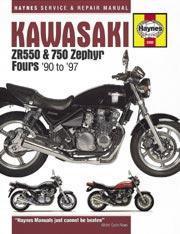 Kawasaki ZR550 & 750 Zephyr Fours 1990-97
