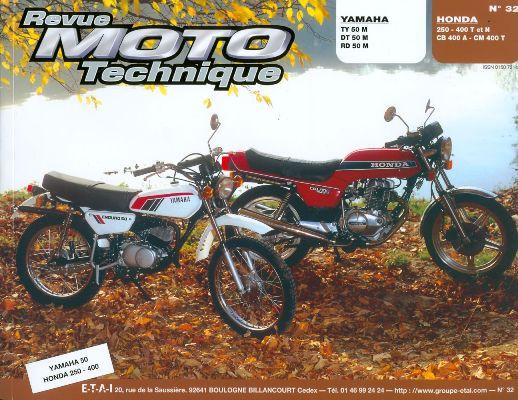 F032 Yamaha DT/RD50M,Honda CB 250/400 T/N/A CM 400