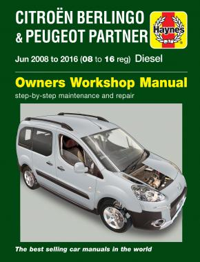 Citroen Berlingo Peugeot Partner 2008-16