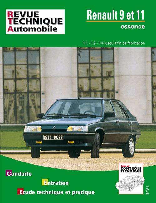 Renault 9 e 11 Essence 1.1/1.2/1.4 1982-89 RTA423