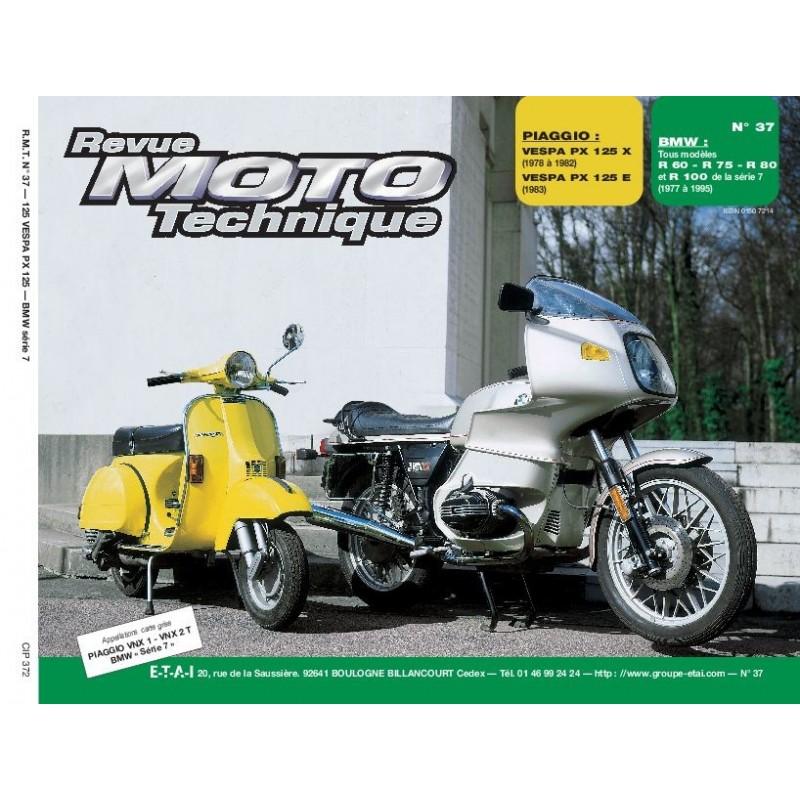 F037 Vespa P125X-125E-BMW R60-75-80-R100RS/RT