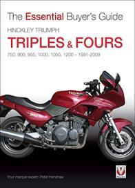 Hinckley Triumph triples & fours 1991-2009 EBGuide