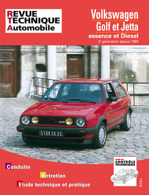 Volkswagen Golf II,Jetta Gas/D 1984... ( RTA719)