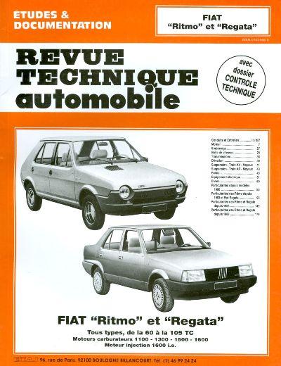 Fiat Ritmo/Regata 60-105 1978-90 exc Abarth RTA392