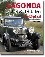 Lagonda 2, 3 & 3 1/2 Litre in detail 1925-35