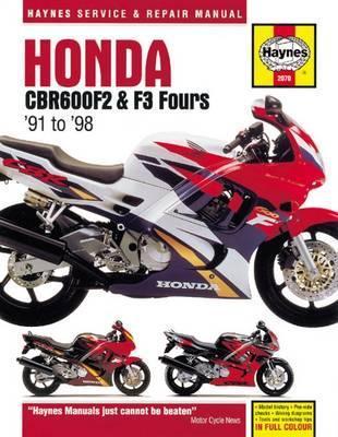 Honda CBR600F2 & F3 Fours 1991-98