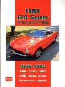 Fiat 124 Spider Perfomance Portfolio 1966-85