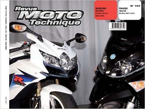 F160 Piaggio Xevo 125, Suzuki GSXR750 2008-10