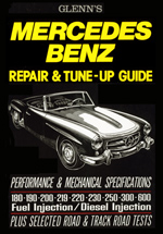 Mercedes Benz Glenns Repair & Tune up Guide