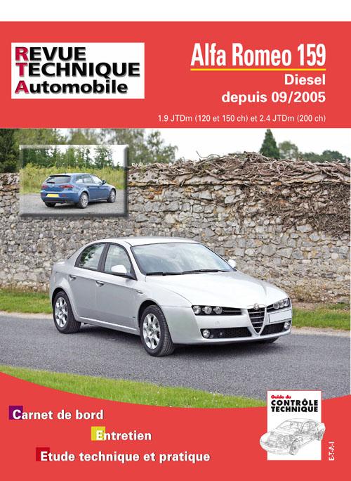 Alfa Romeo 159 1.9 JTD et 2.4 JTD (RTAB710)