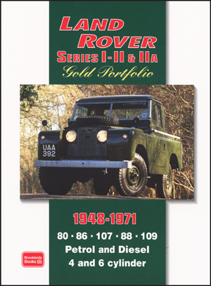Land Rover Series 1, 2 & 2a Gold Portfolio 1948-71