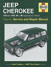 Jeep Cherokee Petrol 1993-96