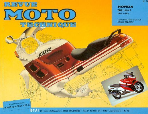 F070 Honda CBR 1000 1987-96