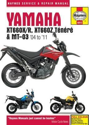 Yamaha XT660 & MT-03 2004-11