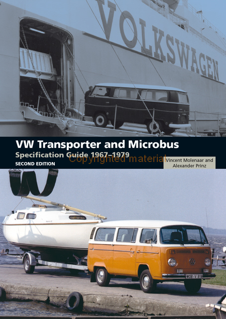 VW Transporter &Microbus Specification Guide 67-79