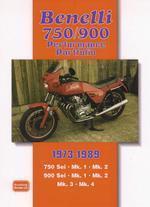 Benelli 750 & 900 Perfomance Portfolio 1973-89