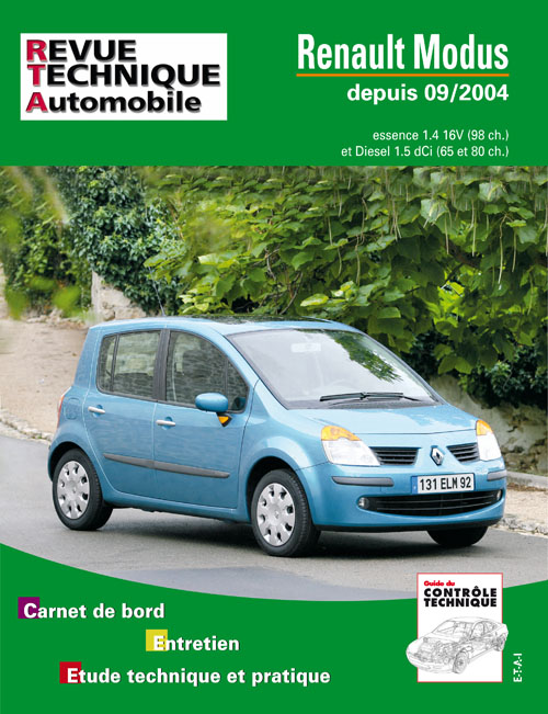 Renault Modus Essence/Diesel 09-2004 RTA689