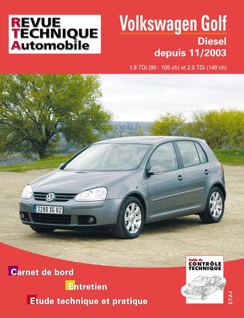 Volkswagen Golf V TDI Desde 11/2003 (RTA680)