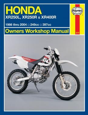 Honda XR250L/R XR400R 1986-2004