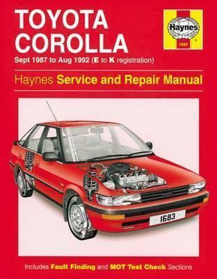 Toyota Corolla Petrol 1987-92
