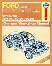 Ford Escort MK I Mexico RS1600 & RS2000 1970-74