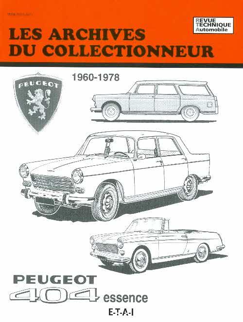 Peugeot 404 Essence 1960-1978 (AC40)